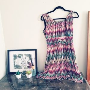 Enfocus Studio • Colorful Mini Dress